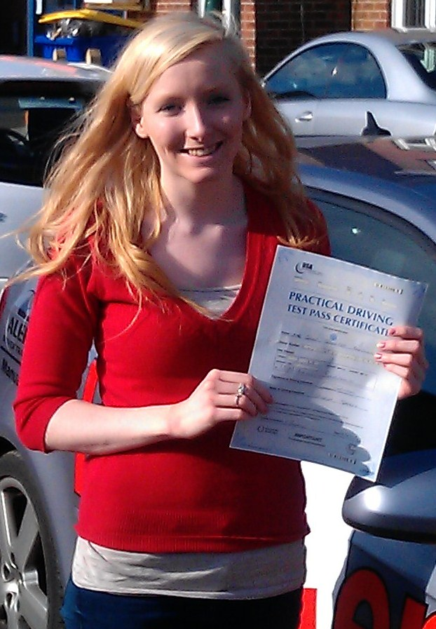 Our Latest Successful Student Is Chloe Baldwin