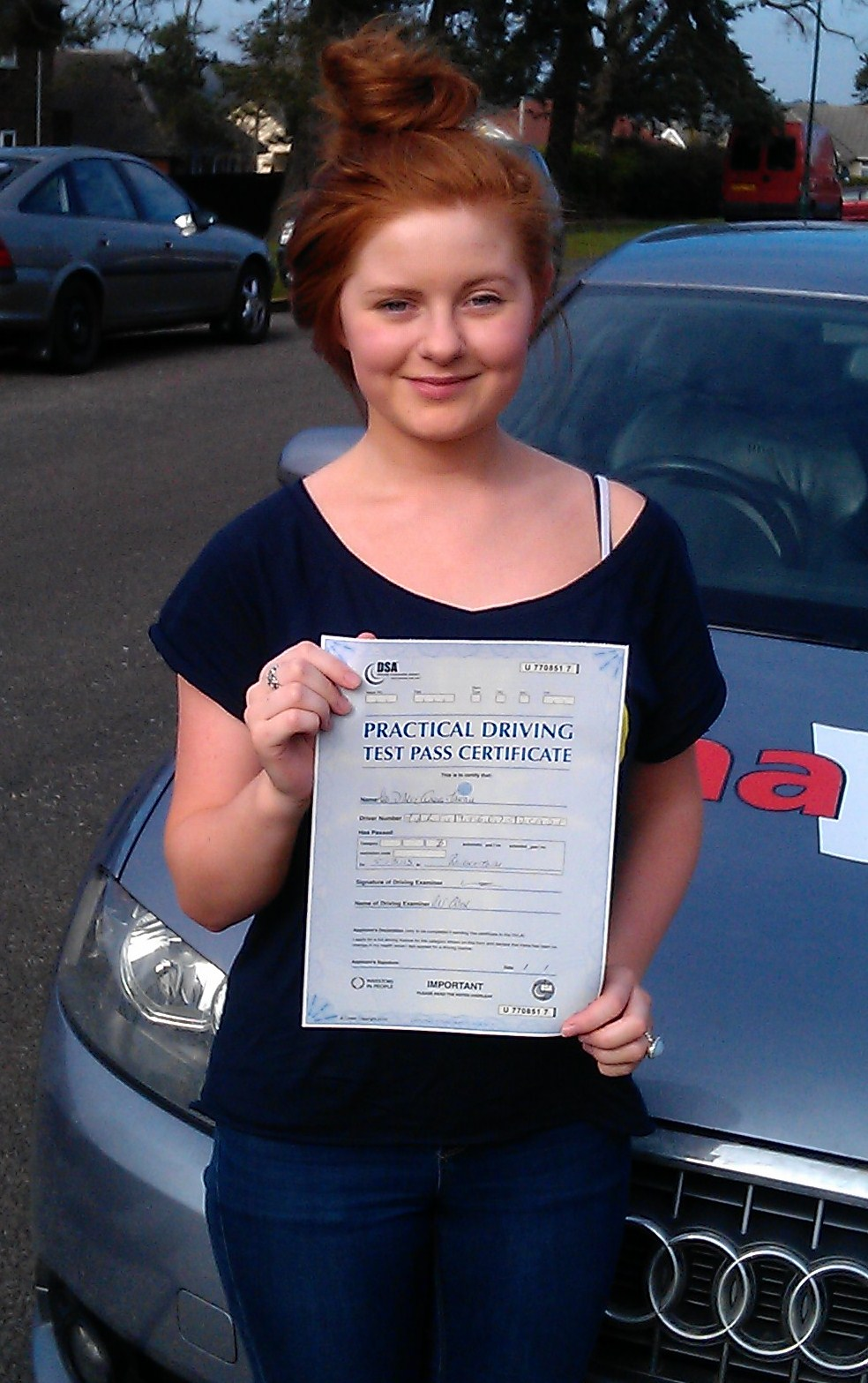 Our Latest Successful Student Is D'arcy Martin